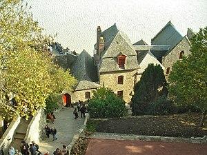 Mont Saint-Michel - Inside the walls of Mont Saint-Michel