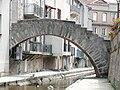 Montbrison - Pont piéton du quai de l'Hôpital.JPG