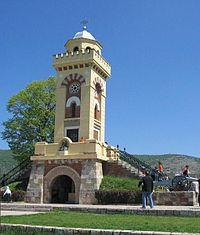 Monument to commemorate Battle of Čegar Hill, near Niš