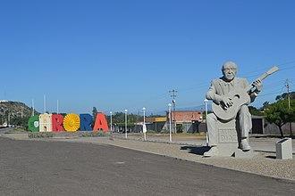 Carora - Alirio Díaz Monument in Carora.