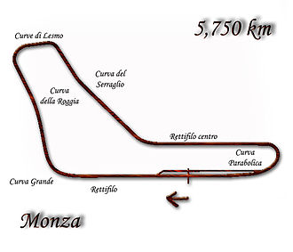 1970 Formula One season - This was the last time the Autodromo Nazionale Monza was driven for 68 laps: from 1971 onwards, the race would have 55 laps