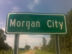 Morgan City, Mississippi.