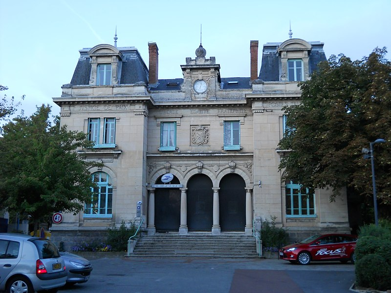 Post office, Mornant, Rhône, France