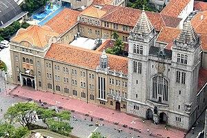 Mosteiro de São Bento (São Paulo) - Aerial view of the monastery