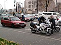 Motards Police nationale controle routier-Strasbourg.jpg