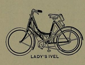 Dan Albone - Ladies' Ivel motor bicycle