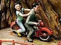 Motorcyclists, Haw Par Villa (Tiger Balm Theme Park), Singapore (41381758).jpg