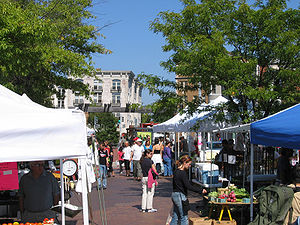 Mount Pleasant, Washington, D.C. - Mount Pleasant Farmer's Market, a weekly event held on Saturday (May–December)