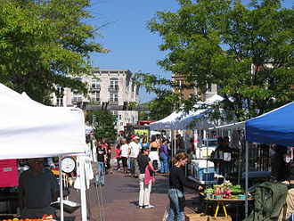 Mount Pleasant (Washington, D.C.) - Mount Pleasant Farmer's Market, a weekly event held on Saturday (May–December)