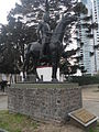 Mounted police memorial in Buenos Aires, Argentina.jpeg