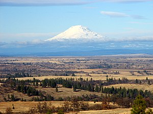Mount Adams (Washington) - Mount Adams from Wasco County, Oregon