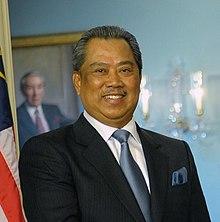O fotografie oficială a premierului Mahathir Mohamad.