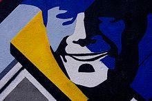 Muran w wikipedia wolna encyklopedia for Mural z franciszkiem