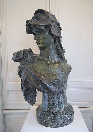 Bellona (goddess) - Auguste Rodin's 1879 bronze bust of Bellona in the Musée Rodin, Paris