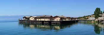 Museum on Water, Ohrid.JPG