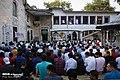 Muslims perform the Eid Al-Adha prayer at Eyup Sultan Mosque 2019-08-11 12.jpg