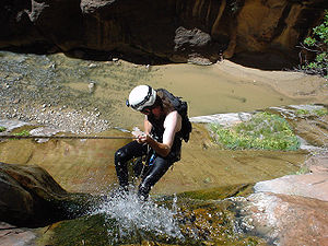 Canyoning - Mystery Canyon, Zion National Park