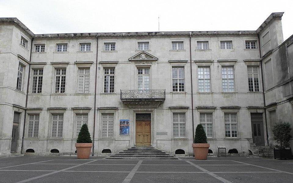 Ancien Évêché de Nîmes (30).