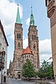 Nürnberg, St. Sebald, von Westen 20170821 001.jpg