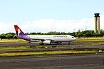 N393HA Airbus A330-243 Hawaiian Airlines (15808693555).jpg