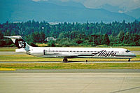 McDonnell Douglas MD-83 компании Alaska Airlines