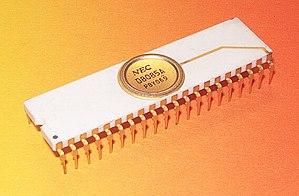 Intel 8085 - Image: NEC D8085A 1a
