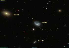 Image illustrative de l'article NGC 829