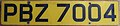 NORTHERN IRELAND, BELFAST 2000's -YELLOW REAR USE VEHICLE LICENSE PLATE - Flickr - woody1778a.jpg