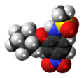 NS-398 molecule spacefill.png