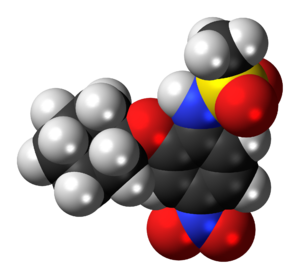 NS-398 - Image: NS 398 molecule spacefill