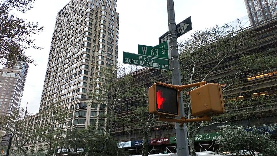NYC, W 63 St
