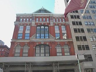 Hudson Street (Manhattan) - Former NYMEX building