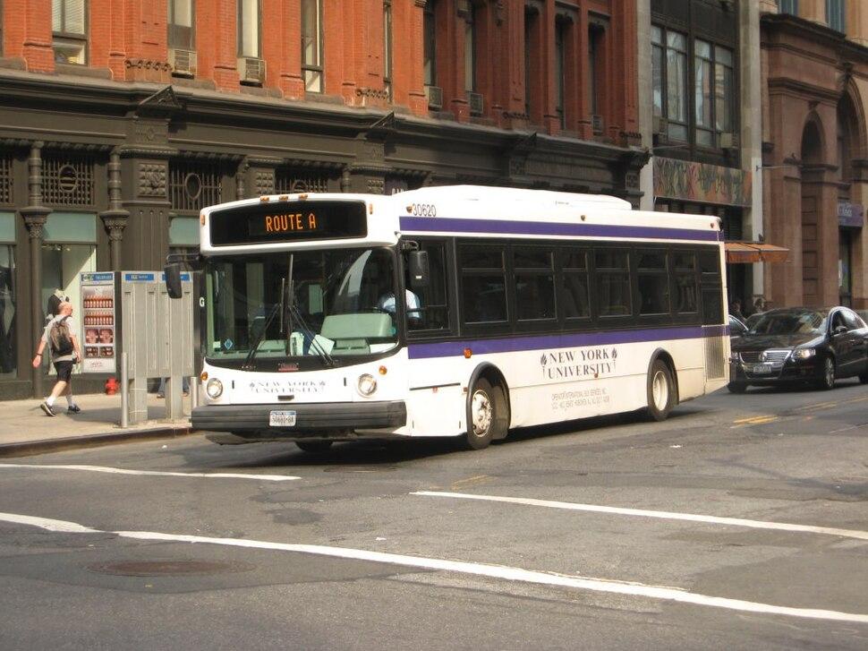 NYU Thomas SLF235 30620 on Shuttle Route A