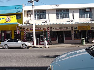 Nadi - Part of Main Street in Nadi