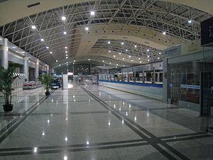 Nanchang Changbei International Airport - Terminal interior