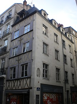 immeuble au 2 rue de la fosse de nantes wikip dia. Black Bedroom Furniture Sets. Home Design Ideas