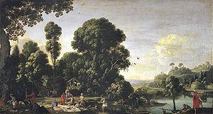 Filippo Napoletano - Picnic on the Grass, 1619.