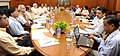 Narendra Modi at a high-level meeting to review the progress of the Swachh Bharat Mission, in New Delhi. The Union Minister for Urban Development, Housing and Urban Poverty Alleviation and Parliamentary Affairs.jpg