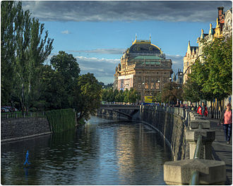 National Theatre (Prague) - National Theatre in Prague