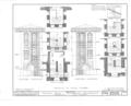 Nassau Hall, Nassau Street, Princeton, Mercer County, NJ HABS NJ,11-PRINT,4B- (sheet 12 of 25).png