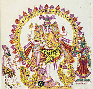 Bhringi - Bhringi (left) worshipping Shiva as Nataraja.