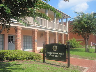 Natchitoches, Louisiana - Natchitoches City Hall