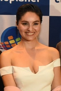 Nathalia Aragonese Chilean actor