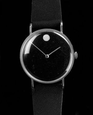 "Movado - Original ""Museum"" Watch, designed by Nathan George Horwitt, ca. 1955. Brooklyn Museum"