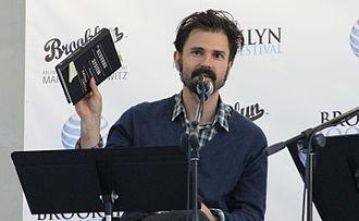 Nathan Larson - Larson at the 2012 Brooklyn Book Festival