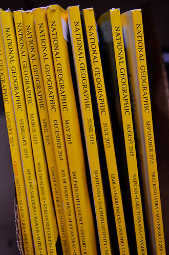 National Geographic - National Geographic English editions collection