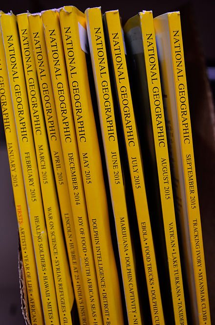 National Geographic English editions collection NationalGeographicLibrary.jpg