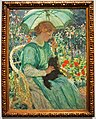 "National Gallery of Australia - Joy of Museums - ""The Green Parasol"" by E. Phillips Fox.jpg"