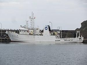 National Taiwan Ocean University - NTOU ocean research ship.