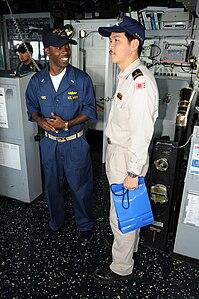 Navigation officer of JS Harusame, -5 Sep. 2009 a.jpg